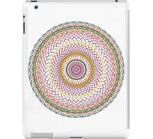 Multi Colored Swirl 4 iPad Case/Skin