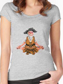 Herman Toothrot #01 (Monkey Island) Women's Fitted Scoop T-Shirt