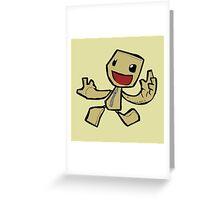Sackboy Greeting Card
