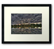 "River View ""Sun Rise"" Framed Print"