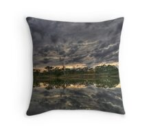 "River View ""Sun Rise"" Throw Pillow"