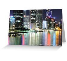 Brisbane, CBD Greeting Card