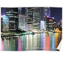 Brisbane, CBD Poster