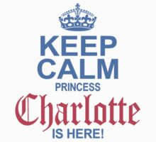 Princess Charlotte is Here One Piece - Short Sleeve