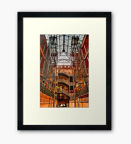The Bradbury Building Framed Print