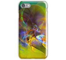 Dove - digital abstract art iPhone Case/Skin