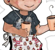 Coffee Misha Sticker