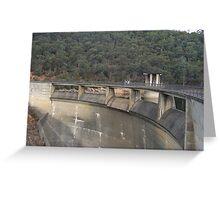 Dam Wall Greeting Card