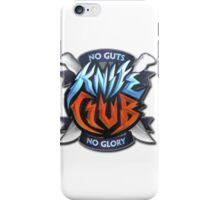 knife club iPhone Case/Skin