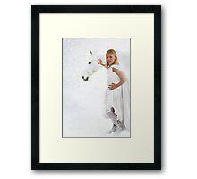 My Little Unicorn Framed Print