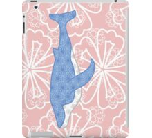 flower whale iPad Case/Skin