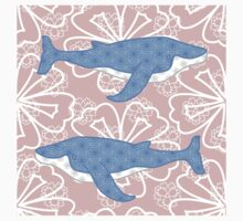 flower whale Kids Clothes