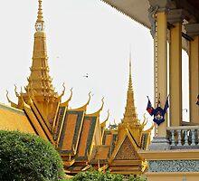 The Royal Palace II - Phnom Penh, Cambodia. by Tiffany Lenoir