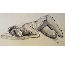 DANCER SLEEPING Photographic Print