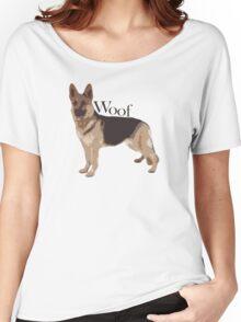 Woof - Alsatian Women's Relaxed Fit T-Shirt