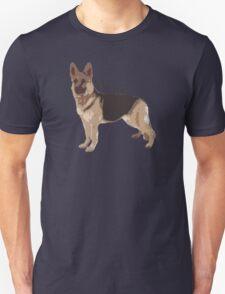 Woof - Alsatian Unisex T-Shirt
