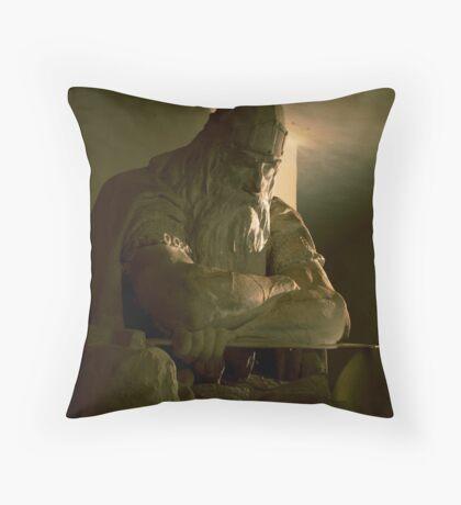Ogier the Dane Throw Pillow