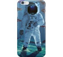 Houston we have a problem astronaut nasa iPhone Case/Skin