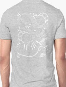 Musical Massage (white print) T-Shirt