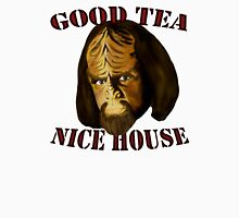 Worf. Likes your tea. And your house. Unisex T-Shirt