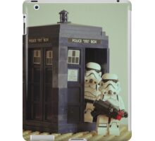 Lego TARDIS with Stormtroopers iPad Case/Skin