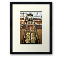 Bradbury Building Elevator Framed Print
