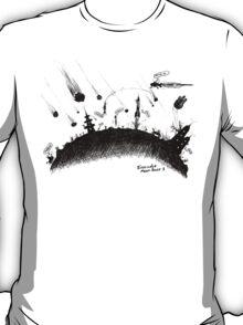 Evacuate Moon Base 1 T-Shirt