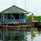 Tonle Sap River by Jimmy Jobson