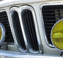 BMW - with funky yellow spotlights by AbsintheFairy