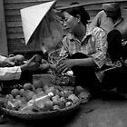 Hanoi Streets 1 by Jimmy Jobson