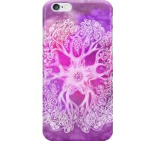 Psychedelic Purple Ink Octopus Blob iPhone Case/Skin