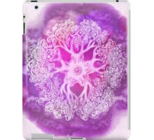 Psychedelic Purple Ink Octopus Blob iPad Case/Skin