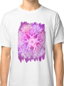 Psychedelic Purple Ink Octopus Blob Classic T-Shirt