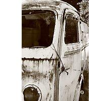 Renault Camper Van with split screen Photographic Print