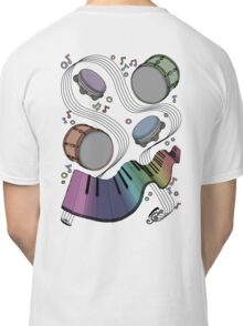 Musical Massage (color print) Classic T-Shirt
