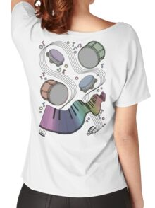 Musical Massage (color print) Women's Relaxed Fit T-Shirt