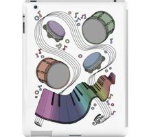 Musical Massage (color print) iPad Case/Skin