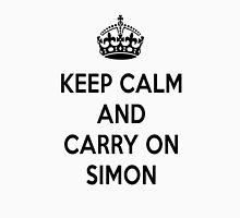 Keep Calm and Carry On Simon Unisex T-Shirt