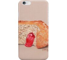 Jam Doughnut, gooey gorgeousness iPhone Case/Skin