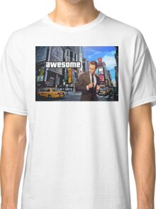 Barney Stinson - Awesome Classic T-Shirt