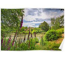 Scotney Castle Garden Poster