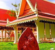 Veal Preah Man - Phnom Penh, Cambodia. by Tiffany Lenoir