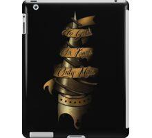BioShock - No Gods, or Kings, Only Man iPad Case/Skin