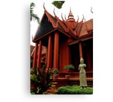 The National Museum - Phnom Penh, Cambodia. Canvas Print