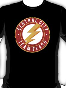 Central City: Team Flash T-Shirt