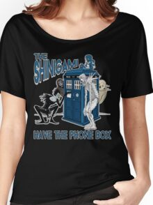 The Shinigami Have The Phone Box Women's Relaxed Fit T-Shirt