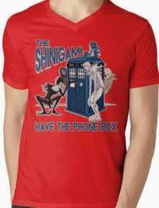 The Shinigami Have The Phone Box Mens V-Neck T-Shirt
