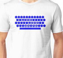 The TypeWriter Unisex T-Shirt