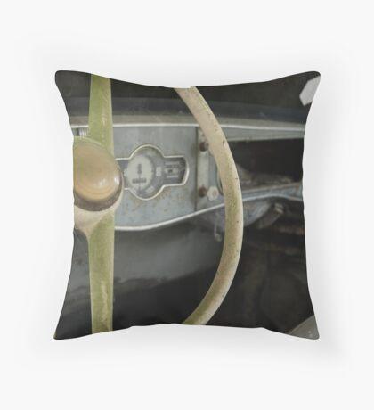 Renault 4 CV - Dauphine Throw Pillow
