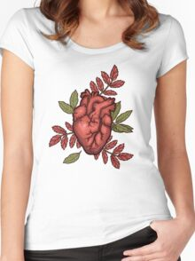 secret hearts Women's Fitted Scoop T-Shirt